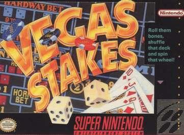 Vegas Stakes - SNES - Used