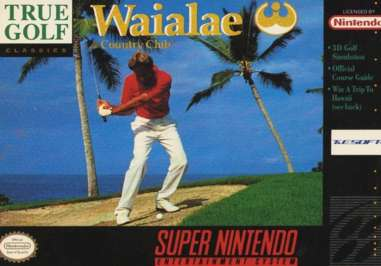 Waialae Country Club - SNES - Used