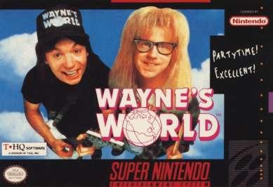 Wayne's World - SNES - Used