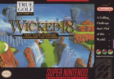Wicked 18 - SNES - Used
