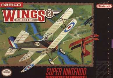 Wings 2: Aces High - SNES - Used