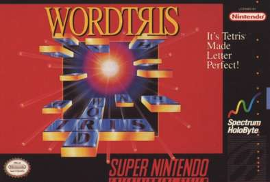 Wordtris - SNES - Used
