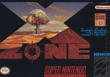 X Zone - SNES - Used