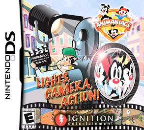 Animaniacs: Lights, Camera, Action! - DS - Used