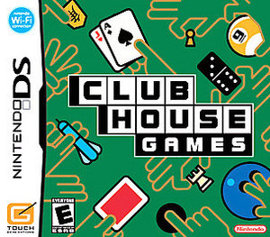 Clubhouse Games - DS - Used