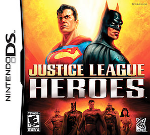 Justice League Heroes - DS - Used