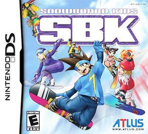 SBK: Snowboard Kids - DS - Used