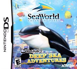 Shamu's Deep Sea Adventures - DS - Used