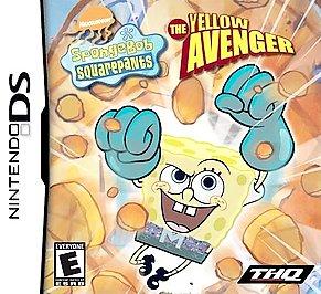 SpongeBob SquarePants: The Yellow Avenger - DS - Used