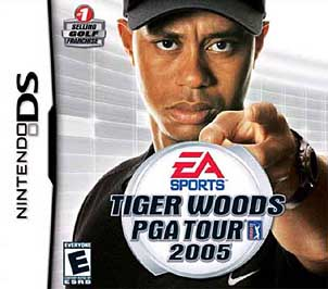 Tiger Woods PGA Tour 2005 - DS - Used