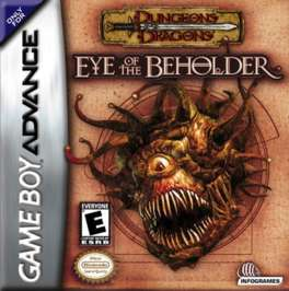Advanced Dungeons & Dragons: Eye of the Beholder - GBA - Used