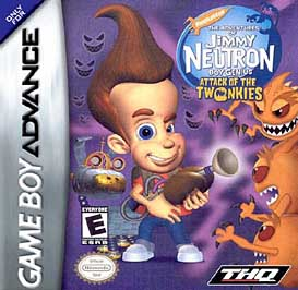 Adventures of Jimmy Neutron, Boy Genius: Attack of the Twonkies - GBA - Used