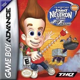 Adventures of Jimmy Neutron, Boy Genius: Jet Fusion - GBA - Used
