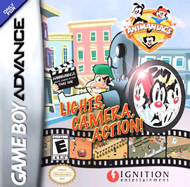 Animaniacs: Lights, Camera, Action! - GBA - Used
