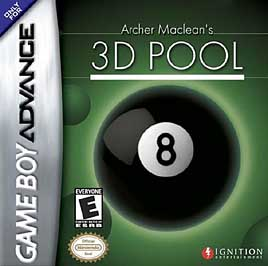 Archer Maclean's 3D Pool - GBA - Used