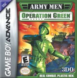 Army Men: Operation Green - GBA - Used