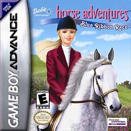 Barbie Horse Adventures: Blue Ribbon Race - GBA - Used