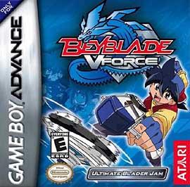 Beyblade VForce: Ultimate Blader Jam - GBA - Used