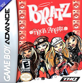 Bratz Rock Angelz - GBA - Used