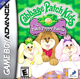 Cabbage Patch Kids: The Patch Puppy Rescue - GBA - Used
