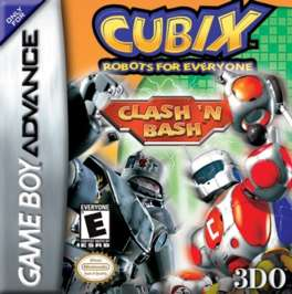 Cubix: Robots for Everyone: Clash 'n Bash - GBA - Used