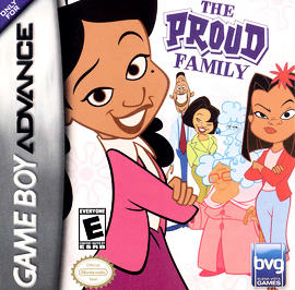 Disney's The Proud Family - GBA - Used