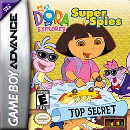 Dora The Explorer: Super Spies - GBA - Used
