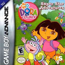 Dora The Explorer: Super Star Adventures - GBA - Used