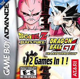 Dragon Ball Z Buu's Fury / GT Transformation 2-in-1 - GBA - Used