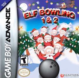 Elf Bowling 1&2 - GBA - Used