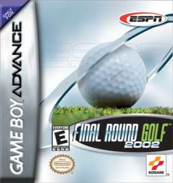 ESPN Final Round Golf 2002 - GBA - Used