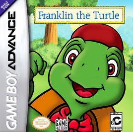 Franklin The Turtle - GBA - Used