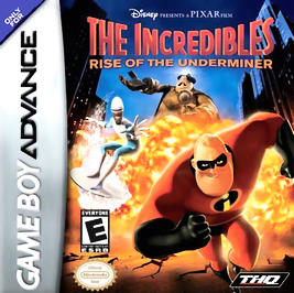 Incredibles: Rise of the Underminer - GBA - Used