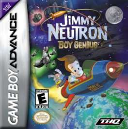 Jimmy Neutron, Boy Genius - GBA - Used