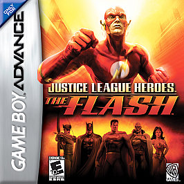 Justice League Heroes: The Flash - GBA - Used