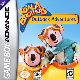 Koala Brothers: Outback Adventures - GBA - Used