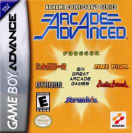 Konami Collector's Series: Arcade Advanced - GBA - Used