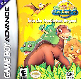 Land Before Time: Into the Mysterious Beyond - GBA - Used