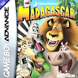 Madagascar - GBA - Used