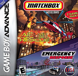 Matchbox Missions: Air, Land & Sea Rescue/Emergency Response - GBA - Used
