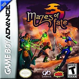 Mazes of Fate - GBA - Used