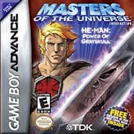 MOTU: He-Man Power of Greyskull - GBA - Used