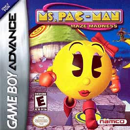 Ms. Pac-Man Maze Madness - GBA - Used