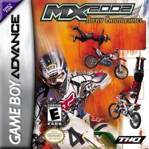 MX 2002 Featuring Ricky Carmichael - GBA - Used
