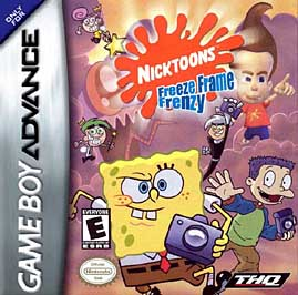 Nicktoons: Freeze Frame Frenzy - GBA - Used
