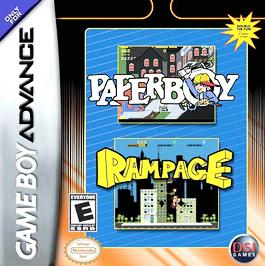 Paperboy / Rampage - GBA - Used