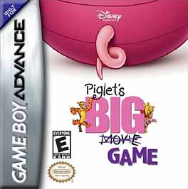 Piglet's Big Game - GBA - Used