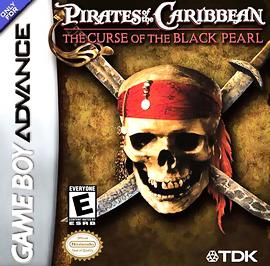 Pirates of the Caribbean: The Curse of the Black Pearl - GBA - Used