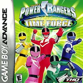 Power Rangers Time Force - GBA - Used