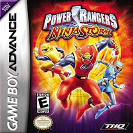 Power Rangers: Ninja Storm - GBA - Used